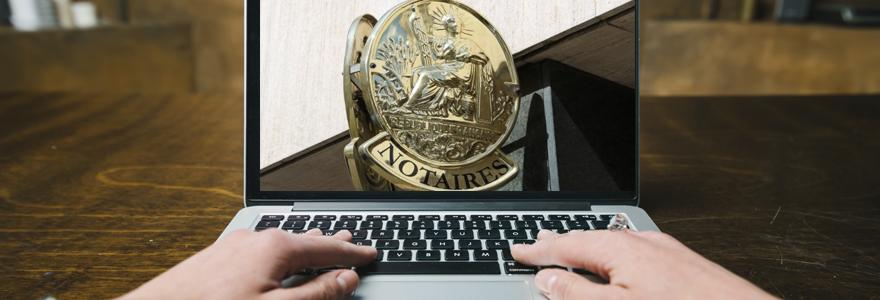 Immobilier notaire en ligne