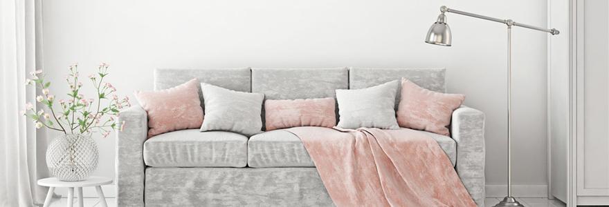 plaids pour canapé