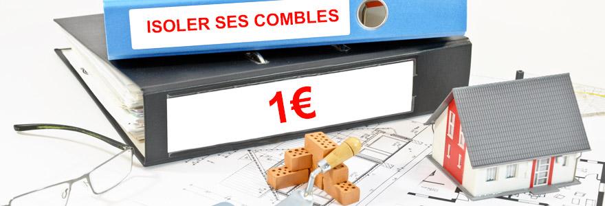 isoler ses combles pour 1€ symbolique