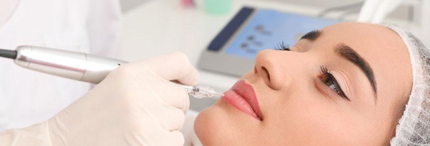 matériel de maquillage permanent